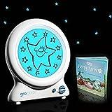 The Gro Company Gro-clock – Entraîneur de sommeil pour bébé avec livre d'histoire de coucher par The Gro Company