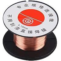 0.1MM alambre de soldadura de cobre, 1pcs nuevo 0.1MM soldador de cobre soldadura
