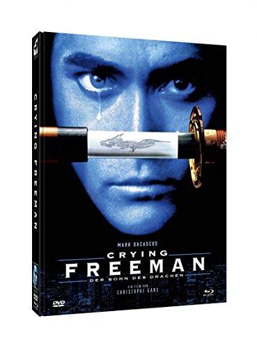 Crying Freeman - Der Sohn des Drachen - 2 Disc Mediabook (Cover D) - limitiert auf 1000 Stück - DVD - Blu-ray