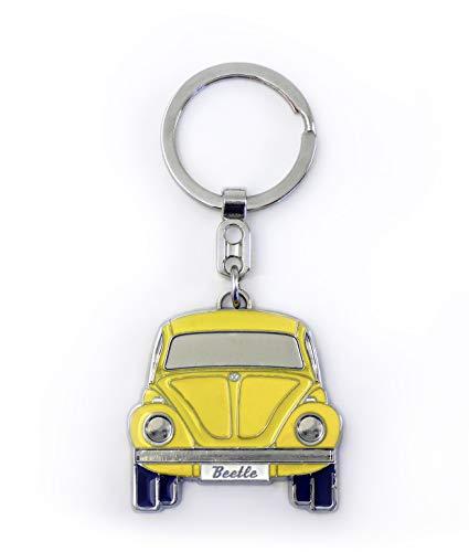 Llavero, diseÃo de furgoneta de Volkswagen, color amarillo