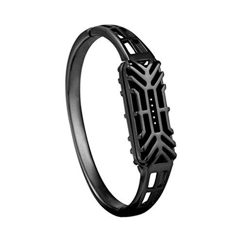 Vovotrade ❤❤Fashion Pure Kupfer Antioxidation Zubehör Armband Uhrenarmband Armband für Fitbit Flex 2 (Schwarz)