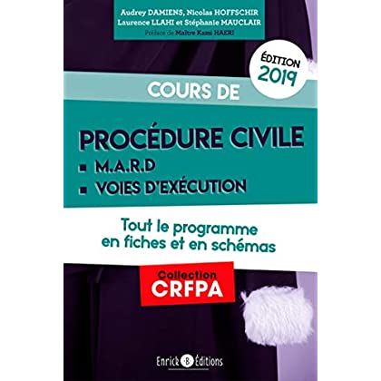 Cours de procédure civile (CRFPA)