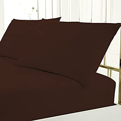 Rida's Bedding Plain Pollycotton Everday Use Easycare Fitted Sheet
