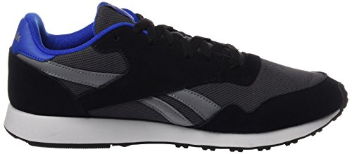 Reebok Herren Royal Ultra Sneaker, Black/Ash Grey/Flint Grey/Vital Blue Blau (Black/ash Grey/flint Grey/vital Blue/white)