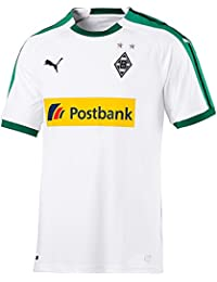 Puma BMG Home Shirt Replica with Sponsor Logo Jersey, Unisex niños, White, ...