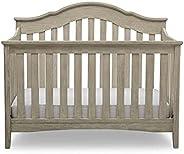 Delta Children Farmhouse 2-in-1 Convertible Baby/Toddler Crib - Textured Limestone