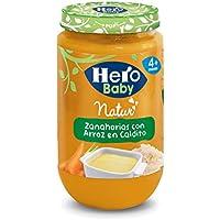 Hero Baby Zanahorias con Arroz - 235 g