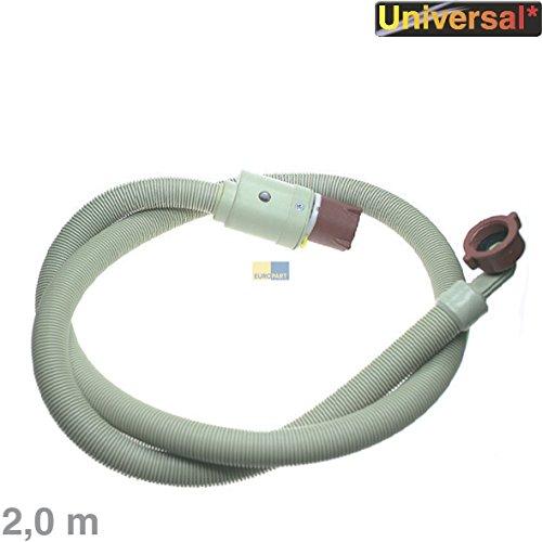 'Euro part 762468Tubo universale tubo di alimentazione aquastop Tubo di sicurezza, 2,0m 3/4per lavatrice o lavastoviglie