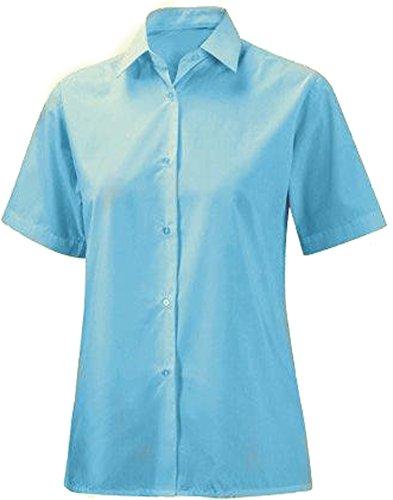 School Uniform Ladies Short Sleeve Blouse Top Office & Workwear Formal Shirt Only Uniform ®