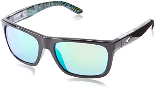 Occhiali da sole Arnette 4176 Black-green Square