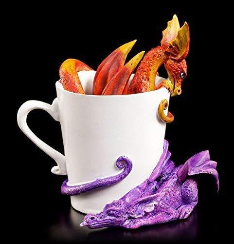 Amy Brown Drachen Figuren in Tasse - Wake Up Dragons