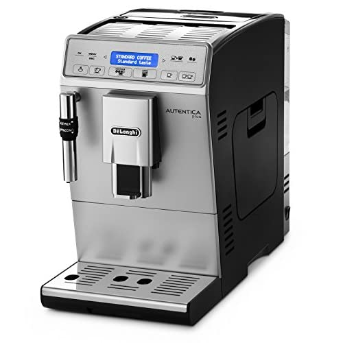 De'Longhi Autentica Cappuccino, Fully Automatic Bean to Cup Coffee Machine, Espresso Maker, ETAM29.660.SB, Silver and…