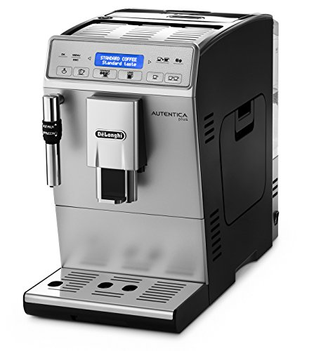 4195x28uQrL - De'Longhi Autentica Cappuccino, Fully Automatic Bean to Cup Coffee Machine, Espresso Maker, ETAM29.660.SB, Silver and…