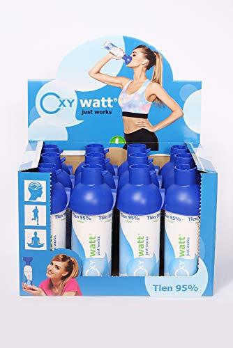 OXYwatt mint 95% ee oxígeno en una lata, 12 botellas de oxigeno...