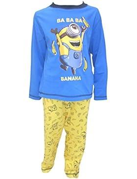 MINIONS - Pijama dos piezas - Manga Larga - para niño