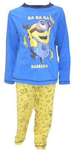 Despicable me minions per bambini pigiama 5-6 anni