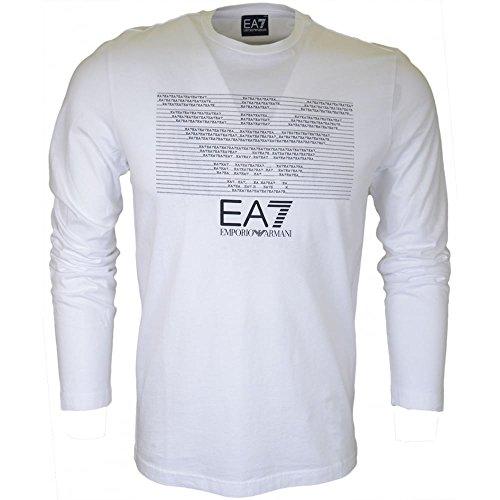 Emporio Armani Langarm T-Shirt Weiß - weiß