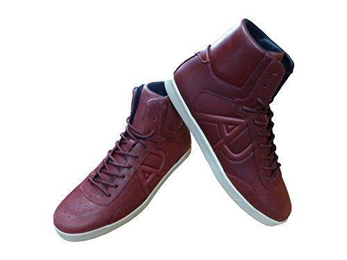 Armani Jeans 9350236a431, Sneakers basses homme Braun (BORDEAUX BURNT RUSS 13973)
