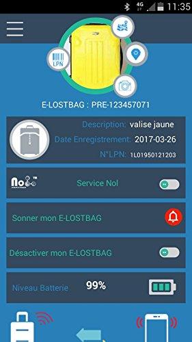 E-LOSTBAG Premium Luggage Tracker.Il embarque Abbildung 2