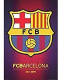 1art1 63263 Fußball Poster - FC Barcelona, Wappen 2013, 91 x 61 cm