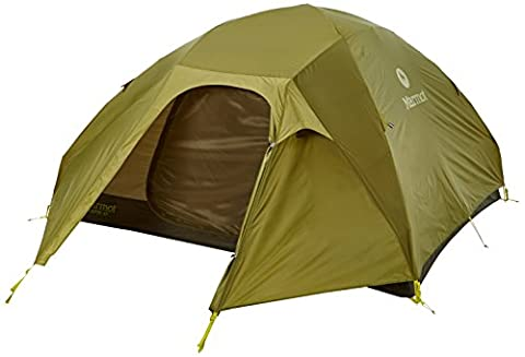 Marmot Vapor 4P - Tente - vert/olive 2017 tente en tunnel