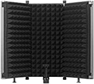 Microphone recording studio soundproof cover, wind screen, blowout net, sound-absorbing cover, noise reduction