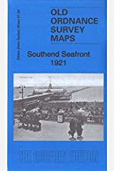 Southend Seafront 1921: Essex Sheet 91.06 (Old Ordnance Survey Maps of Essex) Map