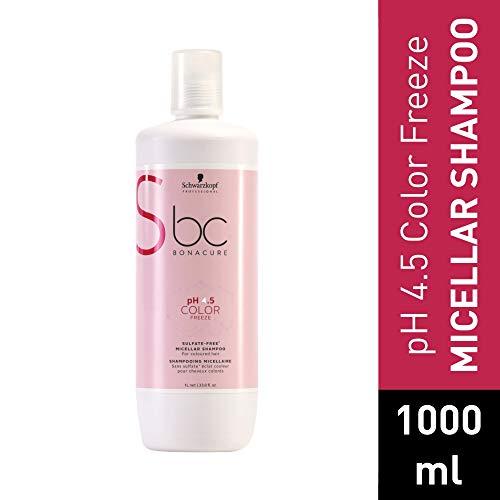 Scheda dettagliata Schwarzkopf Professional BONACURE ph 4.5 Color Freeze Micellar Sulfate Free Shampoo