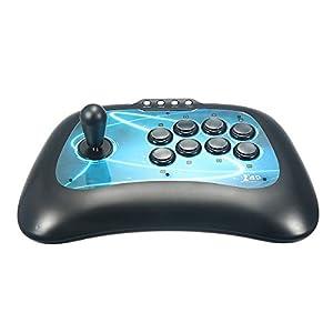C-FUNN USB Beleuchtete Arcade Fightstick Joystick F300 Für Ps4 Für Ps3 Für Xbox 1 360 Pc