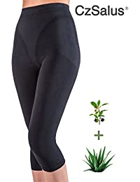 Figurformende Anti-Cellulite Caprihose (Leggings) mit ALOE+grüner Tee