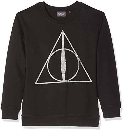 Harry Potter Girl's Deathly Hallows Symbol Jumper