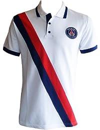 Polo PSG - Collection officielle PARIS SAINT GERMAIN - Football club Ligue 1 - Taille adulte homme