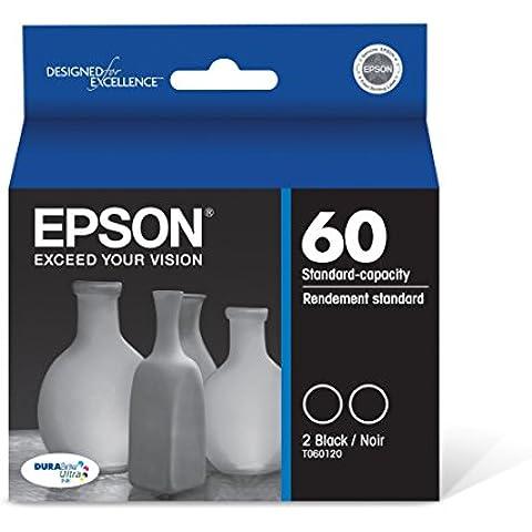 Epson t060120-d1doble–Pack de cartuchos de impresión–2x Negro