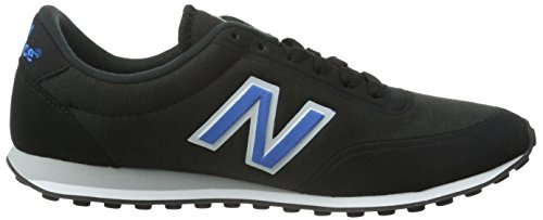 New Balance Herren U410v1 Low-Top Schwarz (Black/Blue)