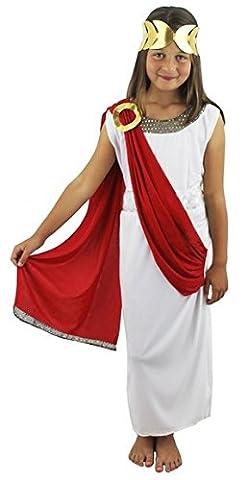 Aphrodite Römisches Kinder-Kostüm, 9-12 Jahre (Griechische Göttin Kopfschmuck Kostüm)