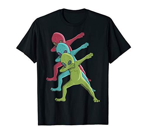 Weltraum Aliens I Sciencefiction Tanz Außerirdische Sterne T-Shirt