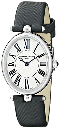 Frederique Constant fc200mpw2 V6 – Wristwatch women's, Strap in Satin Black