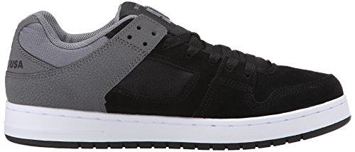 DC Manteca chaussures pour hommes Black/Grey