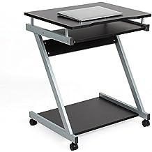 HOMFA Scrivania Per Computer, Tavolo Porta PC Da Ufficio/ Salotto/