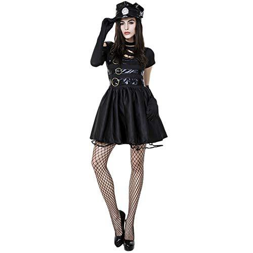 Scissorhand Edward Kostüm - Costour Damen Kleid Cosplay Kostüm Edward Scissorhands Film Verkleiden Abendkleid Fasching