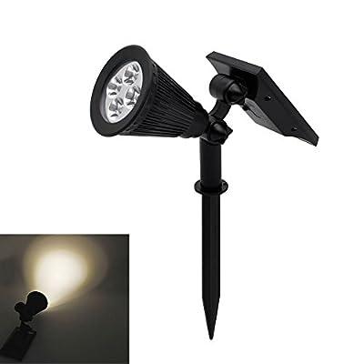 LED Solar Strahler Solarleuchte Beleuchtung Led Gartenleuchten Spotlight Warmweiß 1st/4st 3th Version Superhelle