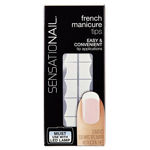 Sensationail French Manucure 100 Pointes Blanches