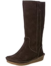 Clarks Women's Lima Rhapsody Suede Leather Boots