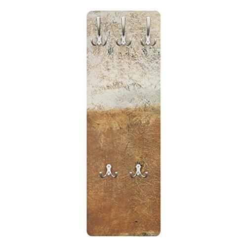 Apalis 78826 Wandgarderobe Elements of Life | Design Garderobe Garderobenpaneel Kleiderhaken Flurgarderobe Hakenleiste Holz Standgarderobe Hängegarderobe | 139x46cm
