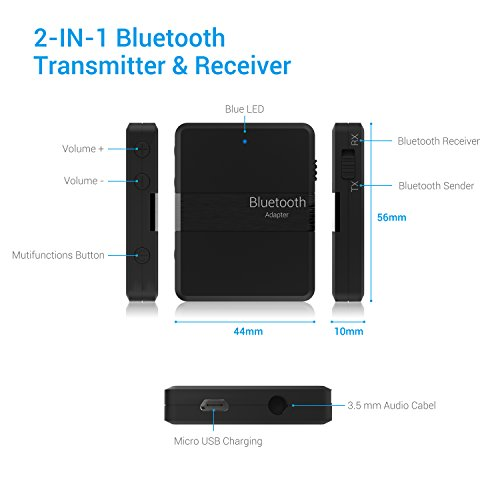 preisvergleich bluetooth adapter chnano 2 in 1 bluetooth sender willbilliger. Black Bedroom Furniture Sets. Home Design Ideas