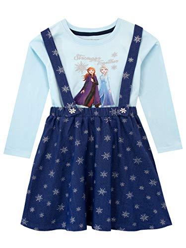 Disney Vestido Top Delantal niñas El Reino Hielo