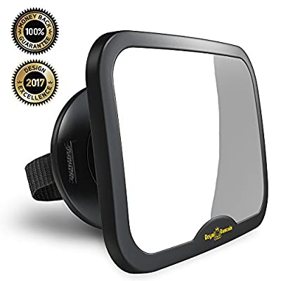 New Baby Car Mirror produced by Royal Rascals - quick delivery from UK.