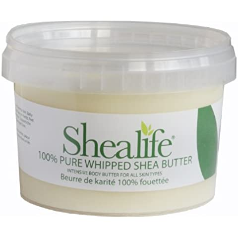 500Grams Organic Virgin Unrefined Shea Butter for Conditioning Sensitive and Dry Skin Baby Skin Salve Treatment of Eczema Psoriasis and Damaged Skin Supplied Direct by Shea Life Skincare