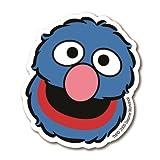 Magnet Grobi Sesamstrasse - Silhouette – Kühlschrankmagnet - Lizenziertes Originaldesign - LOGOSHIRT