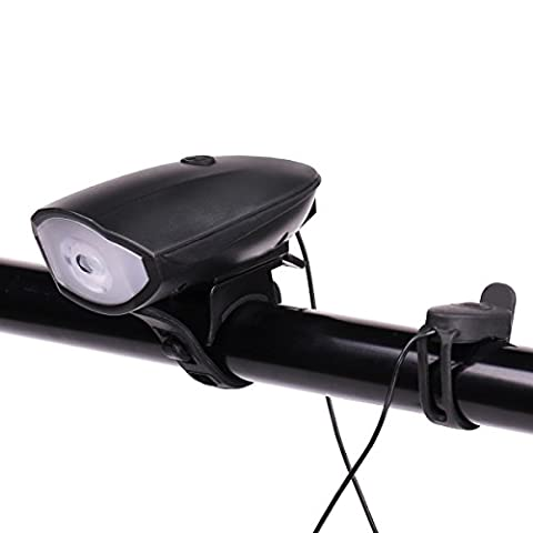 Bike Light USB Rechargeable Urban Commuter Waterproof Horn Bicycle Light Mountain Road Kids \u0026 City Bicycles Lamp Increase Safety \u0026